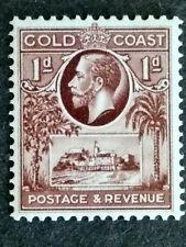 British Gold Coast 1928 King George V 1d Christiansborg Castle - 1v MNH