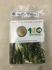 (JC) 10 pcs 100th Ann Malaysia Palm Oil Industry (MPOI) Coin Card 2017