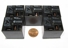 5 Pcs OMRON G7G Relay - 12V DC Coil SPST-NO Contacts 30A 240VAC, G7G-1A2-CB-DC12