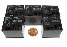 5 Pcs OMRON G7G Relay - 12V DC Coil SPST-NO Contacts 30A 240VAC, G7G-1A2-CB-DC12