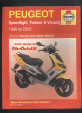 Peugeot Speedfight Trekker Vivacity (1996-2002) Haynes Service Manual Book CH97