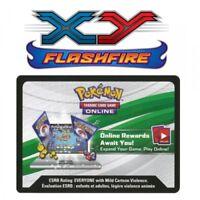 36x Pokemon XY Flashfire Online Booster Codes PTCGO <8hr Email Del