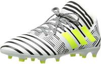 Adidas Nemeziz 17.3 FG J White/Solar Yellow/Black Soccer Shoe (PS/GS)