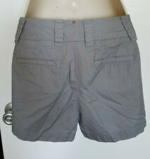 "XXS J Crew 5/"" Stormy Gray Broken-in Cotton Chino Shorts - NWT Womens 00"