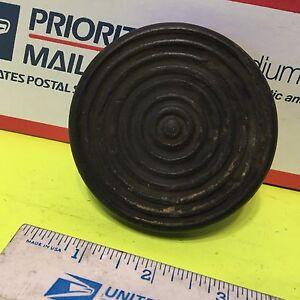 Studebaker.  clutch or brake pedal pad,   used.      Item:  2532