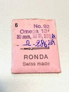 OMEGA Albero di carica 30mm 30 TI, 260 286, 269 Tige Winding stem Aufzugwelle