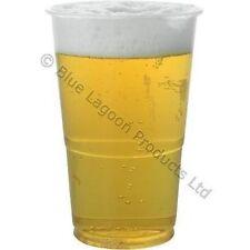 Decoración y menaje vasos sin marca de plástico para mesas de fiesta