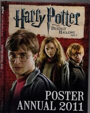 HARRY POTTER AND THE DEATHLY HALLOWS Part 1 POSTER ANNUAL 2011 J.K.Rowling HC