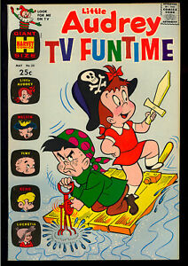 Little Audrey TV Funtime #22 High Grade Harvey File Copy Giant 1969 VF-NM