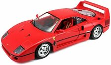 1990 Ferrari F40 red Bburago original series 16601