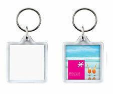Plastic Square Collectable Keyrings