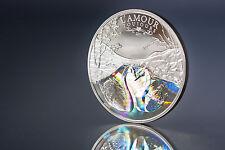 L amour sianouk, cygne, 2011 Cameroun 1000 FRANCS, Hologram, Amour, Argent