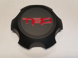 Toyota TRD Matte Black Center Cap Tacoma 4Runner FJ Cruiser PTR20-35111-BK