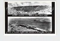 RPPC REAL PHOTO POSTCARD ARIZONA METEOR CRATER MULTI-VIEW FROM HIGHWAY FRASHERS
