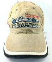 F1 Team McLaren Mercedes Loctite Cap Hat Youth Size Adjustable Embroidered