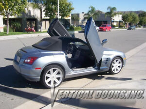 CHRYSLER CROSSFIRE 04-08 LAMBO DOOR KIT VERTICAL DOORS 2DR