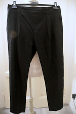 Pantalone pinocchietto nero ZARA black chino trousers M