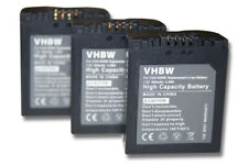 3x batería para PANASONIC LUMIX DMC-FZ35 FZ38 FZ50