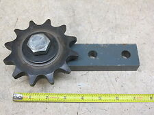 MARTIN,  ROLLER CHAIN IDLER,  80 PITCH X 12 TOOTH,  WITH BRACKET