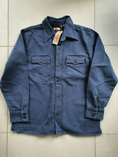 NWT LVC Levi's Vintage Clothing 1970 Indigo Blue Heavywheight Jacket Overshirt L
