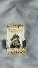 Disney Sleeping Beauty 60th Anniversary Maleficent Pin LE 4000 Opens Dragon