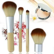 Eco Tools BAMBOO Makeup Brush Set 4 Pcs Make Up Brushes Tools Eyebrow Brushes KR