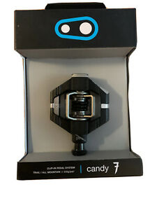 Crank Brothers Candy 7 Premium Pedals (incl. Cleats) - BLACK - NEW