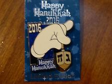 Disney Trading Pins 119320 Happy Hanukkah 2016 - Spinning Dreidel