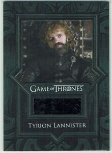 Game of Thrones Season 8 Relic Costume Card VR17 Tyrion Lannister's Cloak