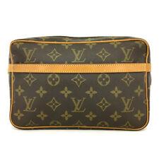 Louis Vuitton Monogram Compiegne 23 Clutch Hand Bag /91920