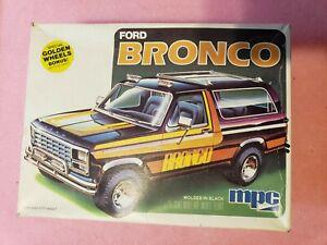 Rare 1978-1986 Ford Bronco NIB Plastic Model Kit MPC 1-0434