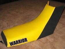 Yamaha Warrior 350 Logo Yellow Top Seat Cover #nl98log120