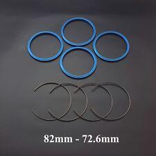 BMW BBS spigot hub centric ring set 82mm to 72.6mm aluminium RC RK CH LM RS FPS