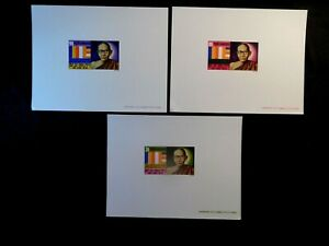 CAMBODIA Presentation PROOF Stamp Sheets Scott 243-245 MNH Rare Item