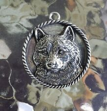 FAMILY HOUSE PET PUREBRED 1 SHIBA INU DOG PEWTER PENDANT or POCKET COIN All New