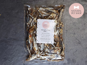 Sprats- 100% natural air dried healthy fish treats for dogs and cats (tiddlers)