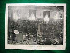 Nel 1921 Milano episodio terroristico al Teatro Diana, interno del Teatro