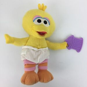 My First Pal Baby Big Bird Plush Sesame Street Fisher Price 2005