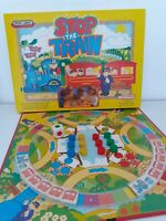 Stop the train vintage childrens board game spears games 100% Complete