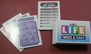 The GAME of LIFE * Twists and Turns - Set of GAME CARDS