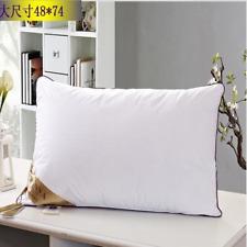 1 piece of soft tall 100% cotton feather silk super soft pillow pad sleep care