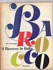 il barocco in italia- mondadori 1960