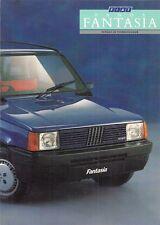 FIAT PANDA fantasia 750 Edizione Limitata UK 1987 vendite sul mercato opuscolo