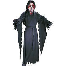 Bleeding Ghost Face Costume Scream Mask Boys Size Medium 8-10 Halloween 5 Piece