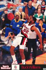 POSTER : NBA BASKETBALL: BUCK WILLIAMS - PORTLAND TRAILBLAZERS  #7417  RP77 T