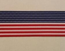 "1.5"" American Flag Patriotic Ribbon Stars & Stripes Put-up: 20 Continuous Yards"