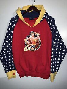Vintage DC Comics Wonder Woman Hoodie