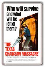 THE TEXAS CHAINSAW MASSACRE FRIDGE MAGNET IMAN NEVERA MATANZA DE TEXAS