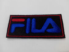 Parche bordado para coser FILA 7/3 cm adorno ropa personalizada