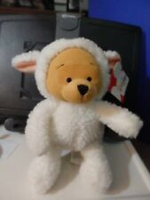 """Especially for The Disney Store Lamb Pooh 8- 9"""" bean bag plush figure-New-w/tag"""